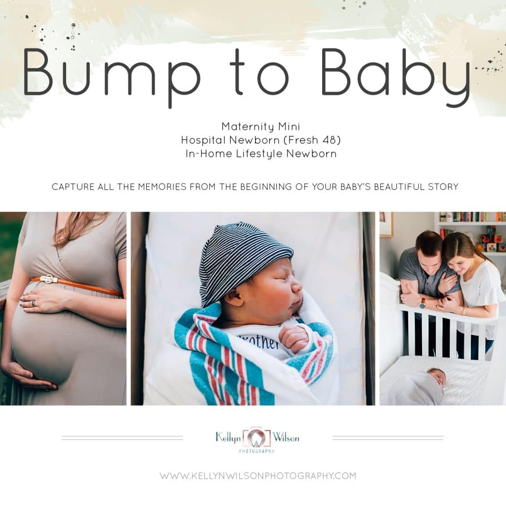 Bump to Baby Sessions | Kellyn Wilson Photography