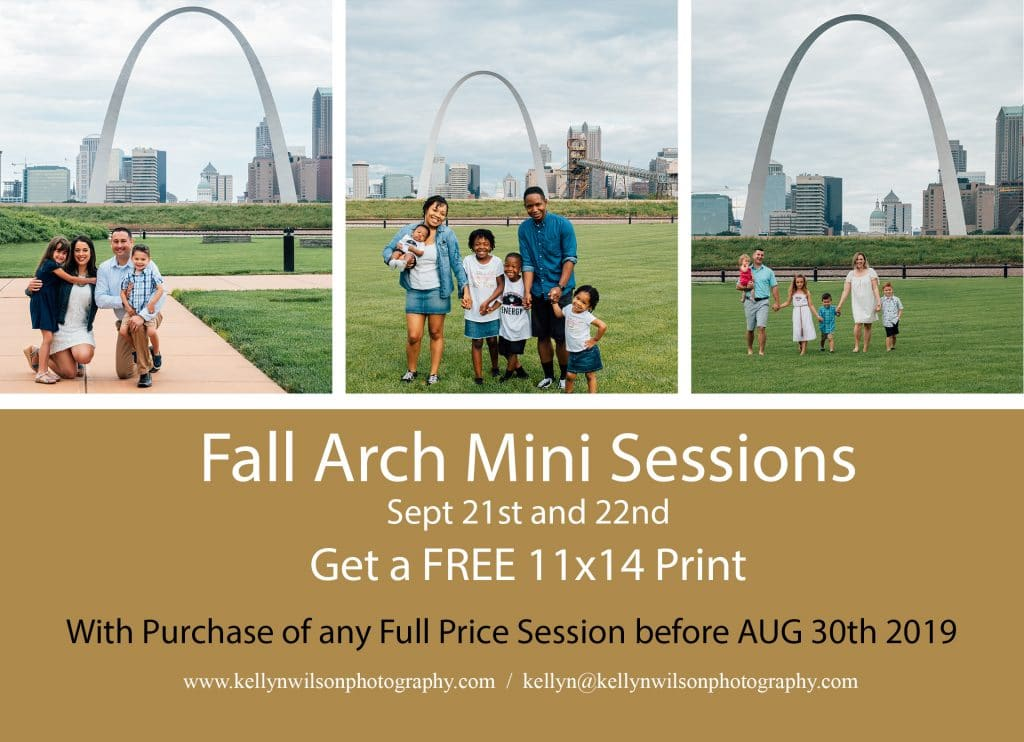 Fall Arch Mini Session | Kellyn Wilson Photography