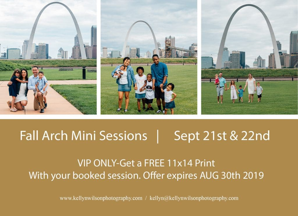 Kellyn Wilson Photography | Fall Arch Mini Sessions