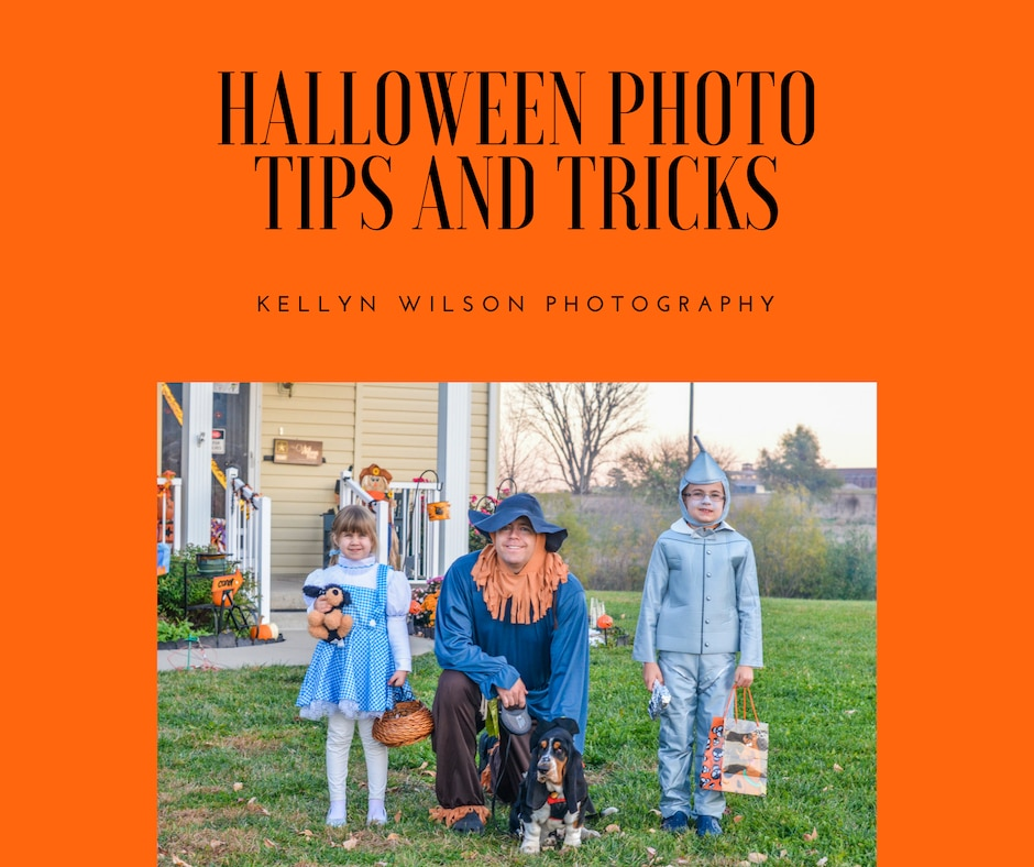 Halloween Photo Tips and Tricks | Kellyn Wilson Photography