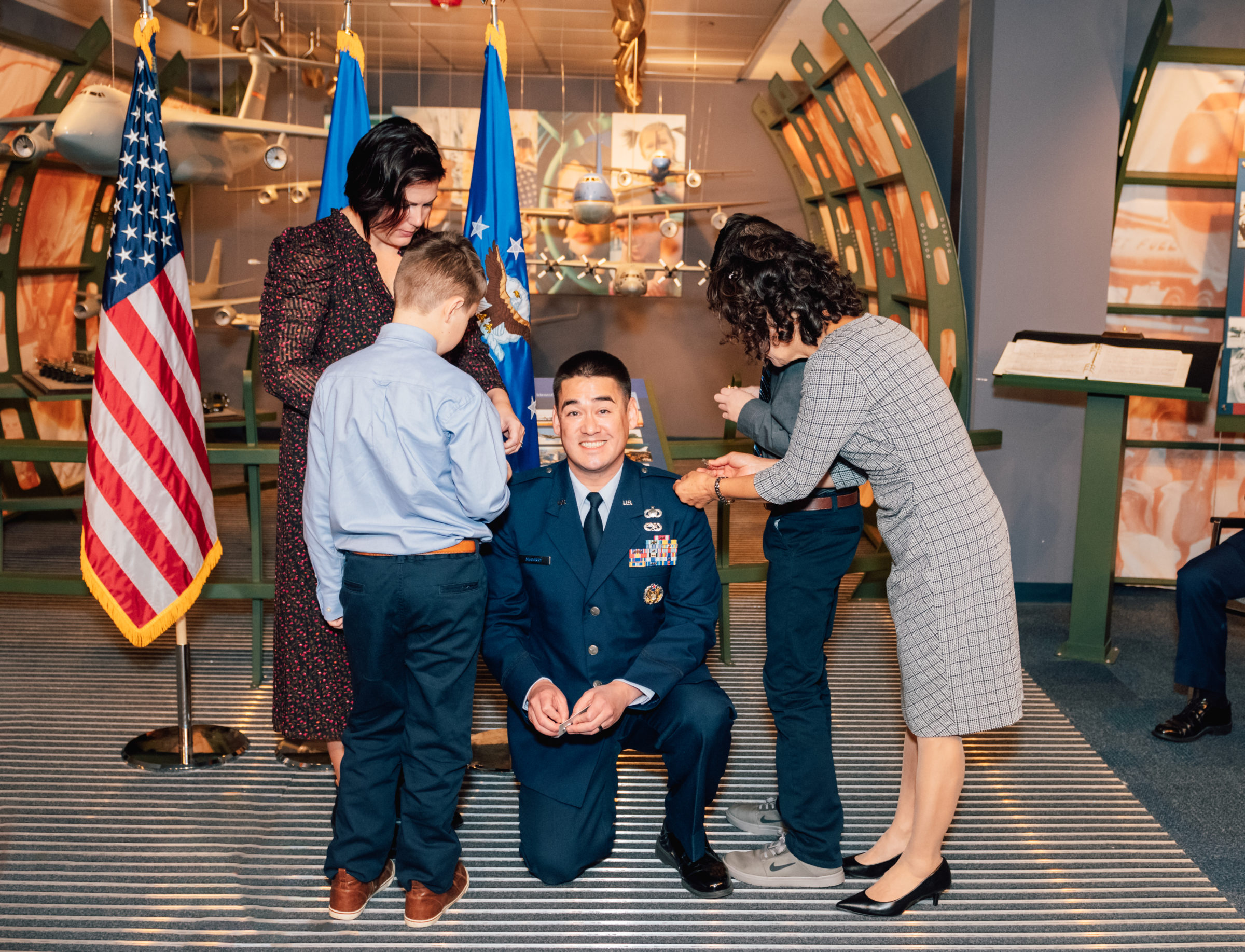 Kellyn Wilson Photography | Military Promotion