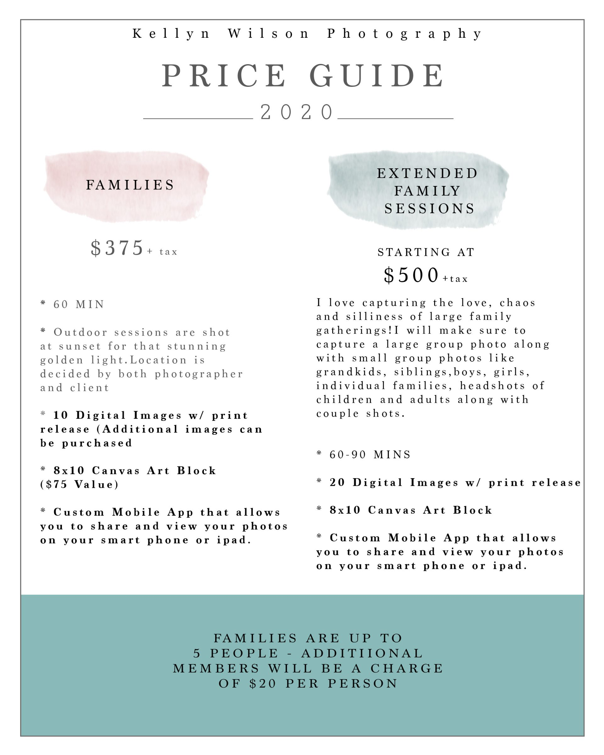 Pricing8x10